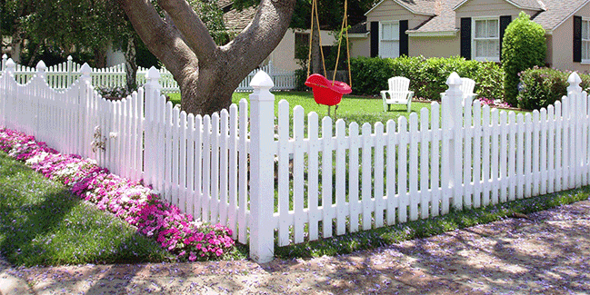 Vinyl Picket Fence Mission Viejo CA